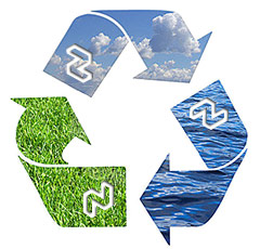 Recycle to help the planet